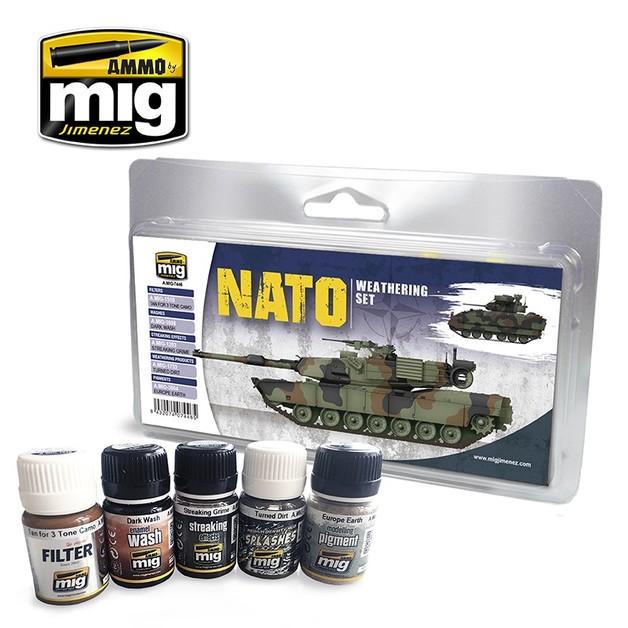 Ammo of Mig Jimenez: Nato Weathering Set