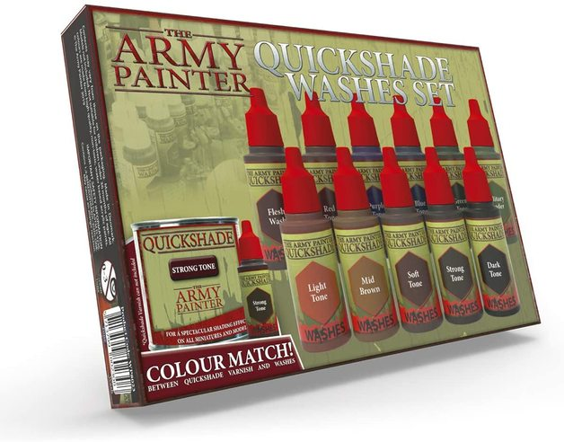 Army Painter: Warpaints - Quickshade Washes Set