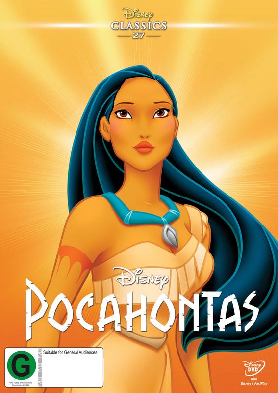 Pocahontas on DVD