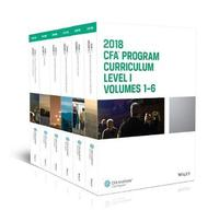 CFA Program Curriculum 2018 Level I by CFA Institute