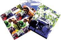 Spencil: Big Wheels II - A4 Book Cover Set (3-Pack)