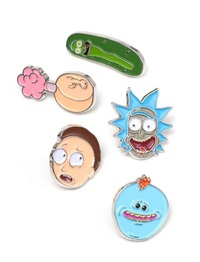 Rick and Morty: Pin Set 5-Pack Characters