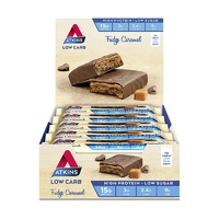 Atkins Advantage Bars - Fudge Caramel (Box of 15)