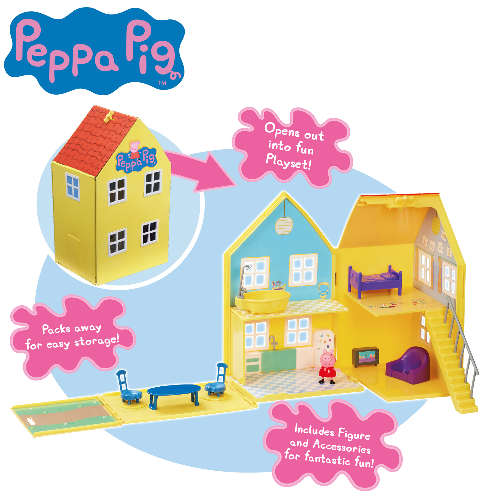 Peppa Pig: Deluxe Playhouse - Playset image