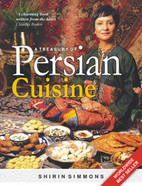 A Treasury of Persian Cuisine by Shirin Simmons image