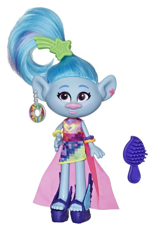 Trolls World Tour: Glam Chenille - Deluxe Fashion Doll