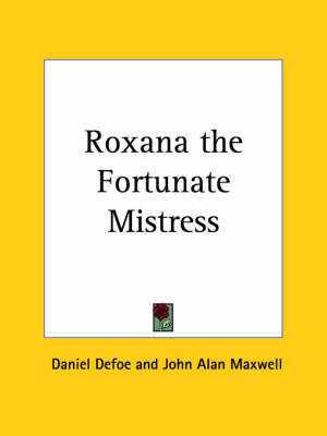 Roxana the Fortunate Mistress (1931) by Daniel Defoe image