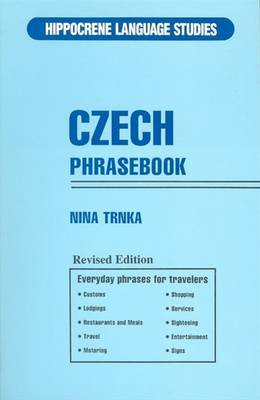 Czech Phrase Book by Nina Trnka image