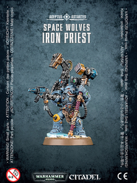 Warhammer 40,000 Space Wolves Iron Priest