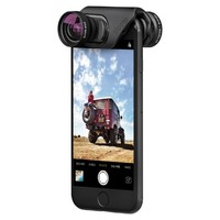 olloclip Core Lens Set with ollo Case for iPhone 7/7 Plus (Black)