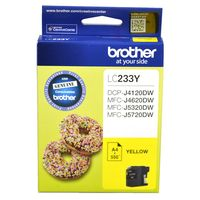 Brother Ink Cartridge LC233Y (Yellow)