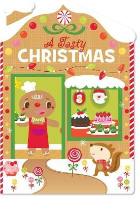 Christmas House Board Book a Tasty Christmas image