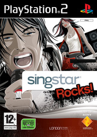 SingStar Rocks! (Game Only) for PS2 image