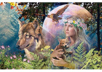 Ravensburger 3000pc Puzzle - Lady of the Forest