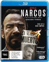 Narcos: Season 3 on Blu-ray