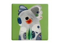Maxwell & Williams: Pete Cromer Ceramic Square Tile Coaster - Koala (9.5cm)