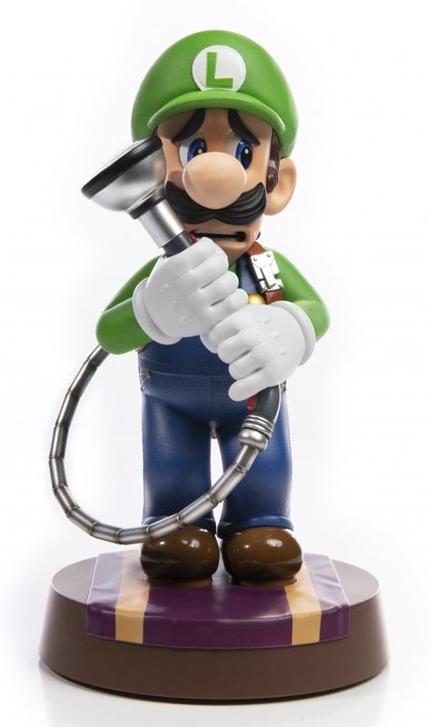 """Luigi's Mansion 3: Luig - 9"""" Premium Statue"""