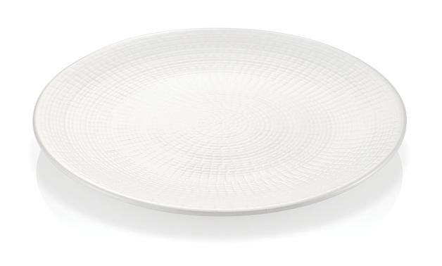 Milano Decor Stoneware 6-Piece Plate Set - White