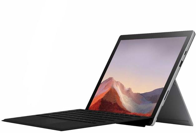 "12.3"" Microsoft Surface Pro 7 i3 4GB 128GB 2-in-1 Laptop Platinum"