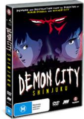 Demon City - Shinjuku on DVD