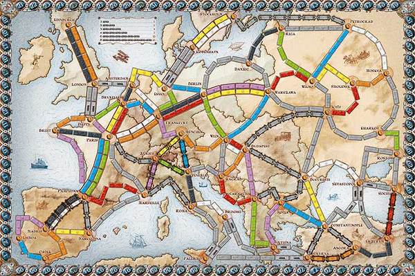 Ticket to Ride: Europe image