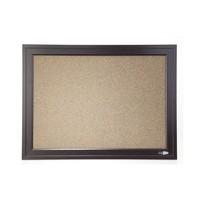 Quartet Espresso Bulletin Board - 580mm x 430mm