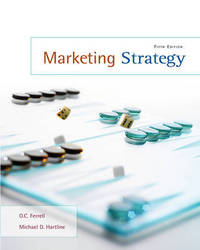 Marketing Strategy by O C Ferrell (University of New Mexico---Albuquerque) image
