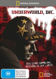 National Geographic: Underworld, Inc on DVD
