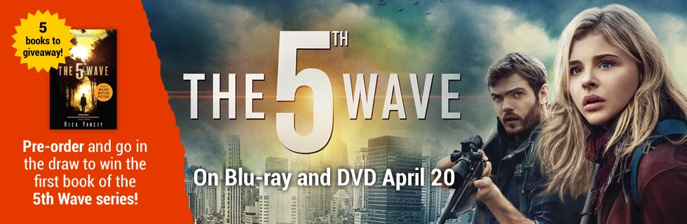 Pre-order and go in the draw to WIN The 5th Wave Book! at