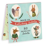 Holiday Forest Friends Labels by Galison