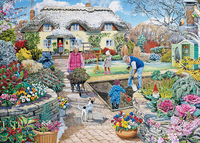 Holdson: 500pce Family Times XL Puzzle (Winter Garden)