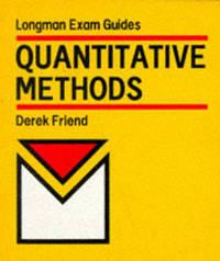 Quantitative Methods by D.V. Friend image