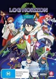 Log Horizon - The Complete Series on DVD
