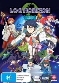 Log Horizon - The Complete Series on DVD