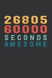2 680 560 000 Seconds Awesome by Visufactum Notebooks