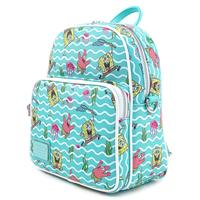Loungefly: Nickelodeon Spongebob Squarepants Jelly Fishing Mini Convertible Backpack