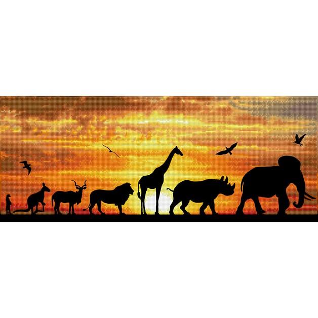 Diamond Dotz: Facet Art Kit - African Sky (Intermediate)