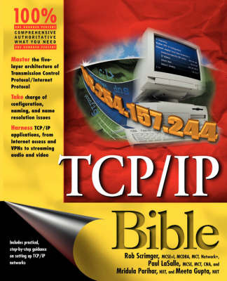 TCP/IP Bible by Rob Scrimger image