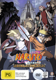 Naruto - The Movie 2: Legend of the Stone of Gelel DVD