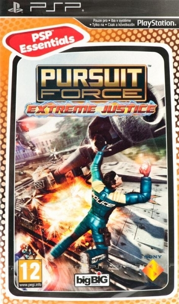 Pursuit Force: Extreme Justice (Essentials) for PSP image