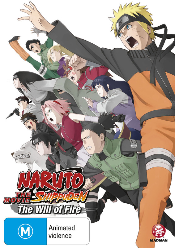 Naruto Shippuden Movie 3: The Will of Fire on DVD