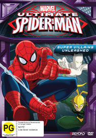 Ultimate Spider-Man: Supervillains Unleashed on DVD