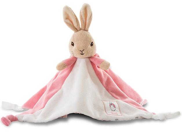 Beatrix Potter: Flopsy Rabbit Baby Comforter - Pink