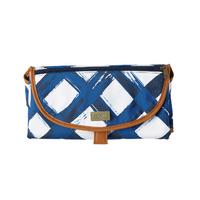 Isoki Clutch Change Mat - Noosa Blue/White