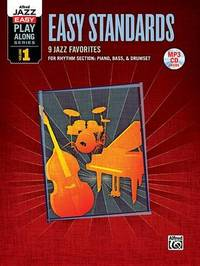 Alfred Jazz Easy Play-Along -- Easy Standards, Vol 1: Rhythm Section, Book & MP3 Disk by Alfred Publishing