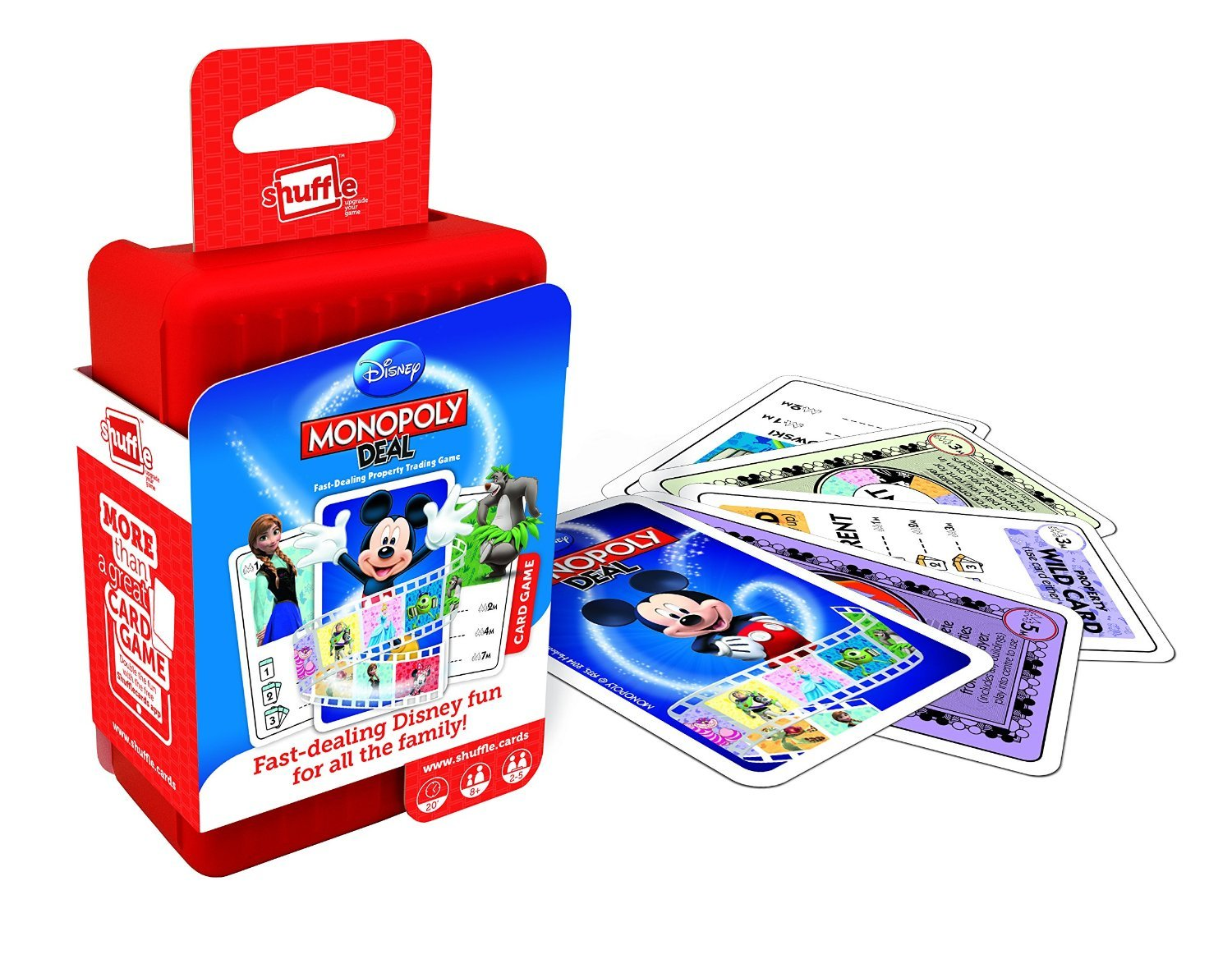 Shuffle Card Games - Disney Monopoly image