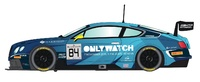 Scalextric: DPR Bentley Continental GT3, Team HTP Blue #84 - Slot Car