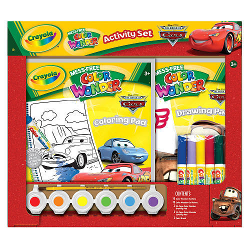 Crayola Color Wonder Mess Free - Cars 3 image