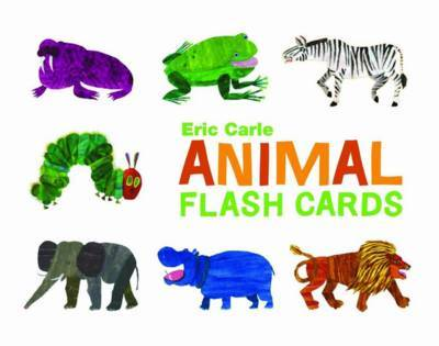 Animal Flash Cards by Eric Carle