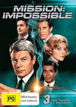 Mission - Impossible Season 3 on DVD